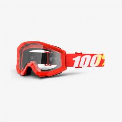 100 Percent MX Brille Strata JR Furnace Clear Lens