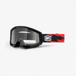 100 Percent MX Brille Strata Slash Clear Lens