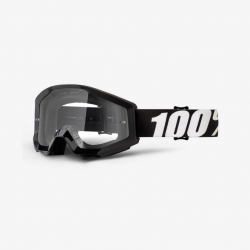 100 Percent MX Brille Strata Slash Clear Lens