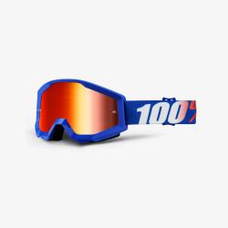 100 Percent MX Brille Strata Nation Mirror Red Lens