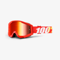 100 Percent MX Brille Strata Furnace Mirror Red Lens