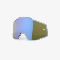 Racecraft/Accuri/Strata - Replacement Lens - Blue Mirror
