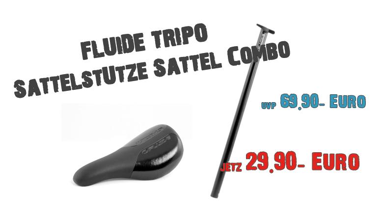 FLUIDE Tripod Satellstützen / Sattel Combo